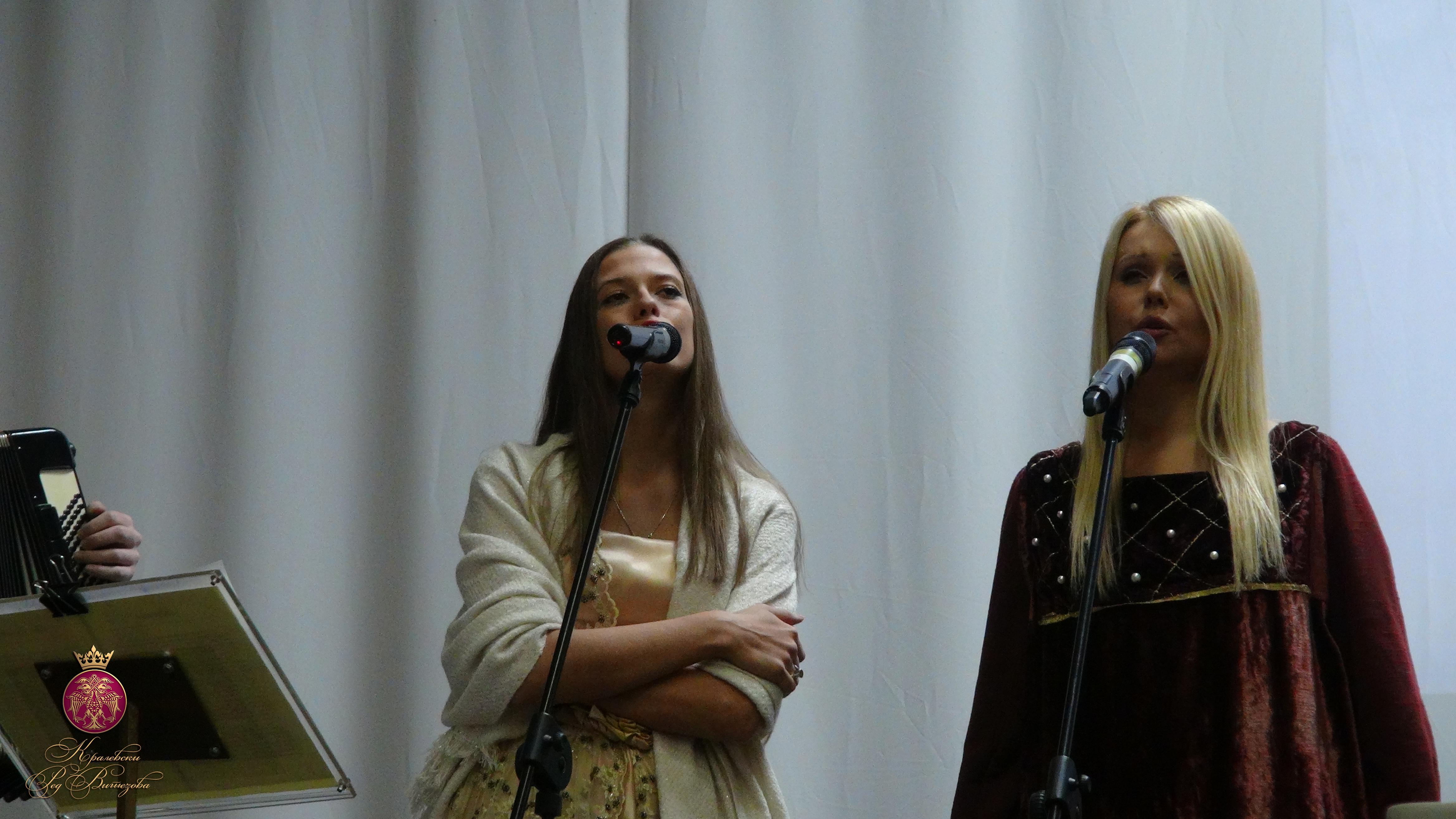 Анастасия Мрдженович и Таня Андрийич (фото: Королевский Орден Витязей)